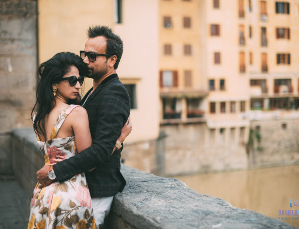 Mili and Sid - Couple Photoshoot in Florence